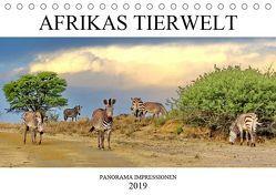 AFRIKAS TIERWELT Panorama Impressionen (Tischkalender 2019 DIN A5 quer) von N.,  N.