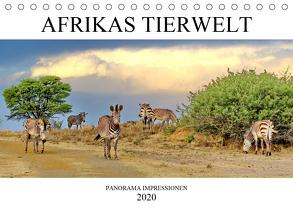 AFRIKAS TIERWELT Panorama Impressionen (Tischkalender 2020 DIN A5 quer) von N.,  N.