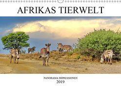 AFRIKAS TIERWELT Panorama Impressionen (Wandkalender 2019 DIN A3 quer) von N.,  N.