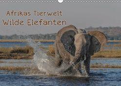 Afrikas Tierwelt – Wilde Elefanten (Wandkalender 2019 DIN A3 quer) von Voss,  Michael