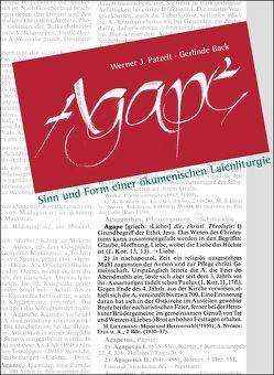 Agape von Back,  Gerlinde, Patzelt,  Werner J., STIFTUNG HAUS der action 365