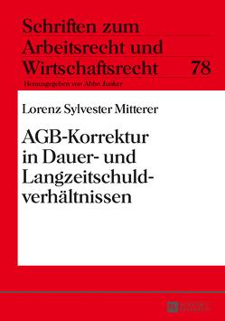 AGB-Korrektur in Dauer- und Langzeitschuldverhältnissen von Mitterer,  Lorenz Sylvester