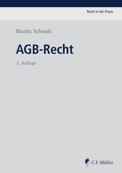 AGB-Recht von Schwab,  Martin