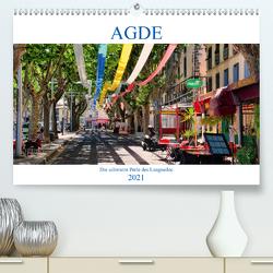 Agde – die schwarze Perle des Languedoc (Premium, hochwertiger DIN A2 Wandkalender 2021, Kunstdruck in Hochglanz) von Bartruff,  Thomas