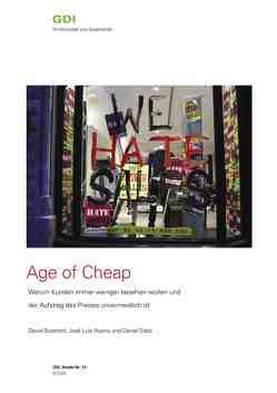 Age of Cheap von Bosshart,  David, Nueno,  José L, Staib,  Daniel