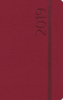 Agenda Struktur bordeaux S 2019 von Korsch Verlag