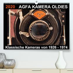 AGFA KAMERA OLDIES Klassische Kameras von 1926 – 1974 (Premium, hochwertiger DIN A2 Wandkalender 2020, Kunstdruck in Hochglanz) von Fraatz,  Barbara