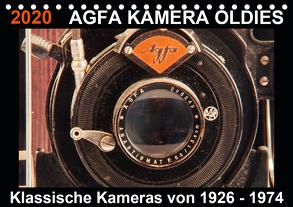 AGFA KAMERA OLDIES Klassische Kameras von 1926 – 1974 (Tischkalender 2020 DIN A5 quer) von Fraatz,  Barbara