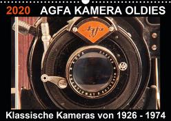 AGFA KAMERA OLDIES Klassische Kameras von 1926 – 1974 (Wandkalender 2020 DIN A3 quer) von Fraatz,  Barbara