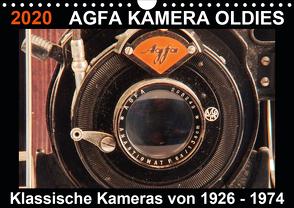 AGFA KAMERA OLDIES Klassische Kameras von 1926 – 1974 (Wandkalender 2020 DIN A4 quer) von Fraatz,  Barbara