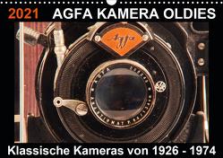 AGFA KAMERA OLDIES Klassische Kameras von 1926 – 1974 (Wandkalender 2021 DIN A3 quer) von Fraatz,  Barbara