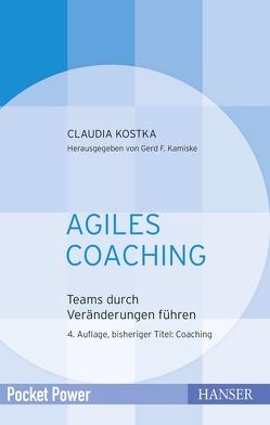 Agiles Coaching von Kostka,  Claudia