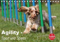 Agility – Sport und Spass (Tischkalender 2019 DIN A5 quer) von Verena Scholze,  Fotodesign