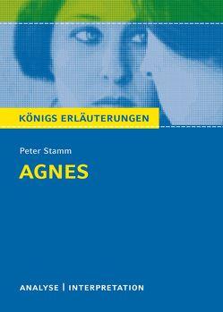 Agnes von Peter Stamm. Königs Erläuterungen. von Möckel,  Margret, Stamm,  Peter