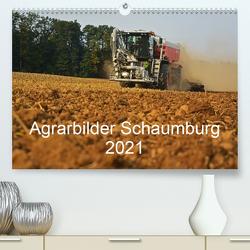 Agrarbilder Schaumburg 2021 (Premium, hochwertiger DIN A2 Wandkalender 2021, Kunstdruck in Hochglanz) von Witt,  Simon