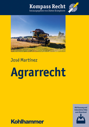 Agrarrecht von Krimphove,  Dieter, Martinez,  José