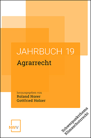 Agrarrecht von Holzer,  Gottfried, Norer,  Roland