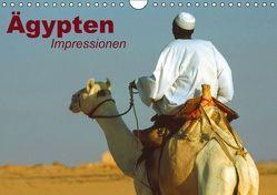 Ägypten • Impressionen (Wandkalender immerwährend DIN A4 quer) von Stanzer,  Elisabeth