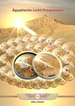 Ägyptische Licht-Frequenzen – Energiekarten von Nünchert,  Gabriele