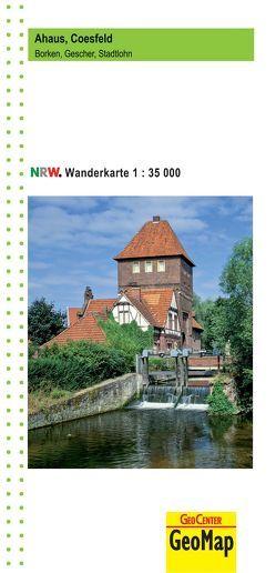 Ahaus, Coesfeld NRW Wanderkarte 1:35.000