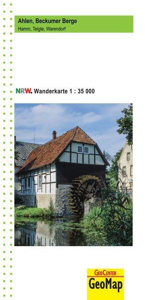Ahlen, Beckumer Berge Wanderkarte 1:35 000