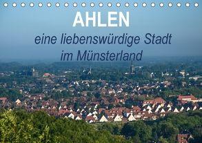 Ahlen eine liebenswürdige Stadt im Münsterland (Tischkalender 2018 DIN A5 quer) von Drews,  Marianne