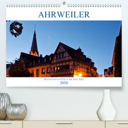 Ahrweiler – Mittelalterflair an der Ahr (Premium, hochwertiger DIN A2 Wandkalender 2020, Kunstdruck in Hochglanz) von boeTtchEr,  U