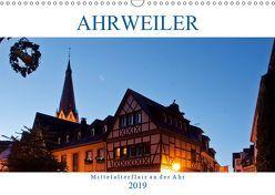 Ahrweiler – Mittelalterflair an der Ahr (Wandkalender 2019 DIN A3 quer) von boeTtchEr,  U