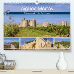 Aigues-Mortes – Festungsstadt in der Camargue (Premium, hochwertiger DIN A2 Wandkalender 2020, Kunstdruck in Hochglanz) von LianeM