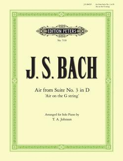 "Air D-Dur ""Air on the G String"" von Bach,  Johann Sebastian, Johnson,  Thomas A."