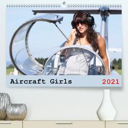 Aircraft Girls 2021 (Premium, hochwertiger DIN A2 Wandkalender 2021, Kunstdruck in Hochglanz) von & Film Jasmin Hahn,  Foto