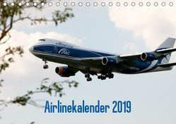 Airlinekalender 2019 (Tischkalender 2019 DIN A5 quer) von Iskra & Julian Heitmann,  Stefan