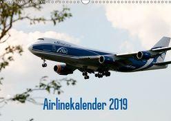 Airlinekalender 2019 (Wandkalender 2019 DIN A3 quer) von Iskra & Julian Heitmann,  Stefan