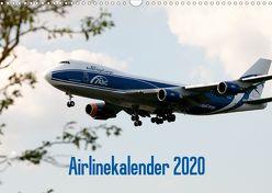 Airlinekalender 2020 (Wandkalender 2020 DIN A3 quer) von Iskra & Julian Heitmann,  Stefan