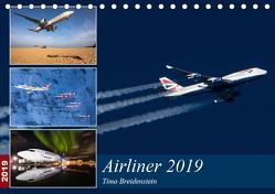 Airliner 2019 (Tischkalender 2019 DIN A5 quer) von Breidenstein,  Timo