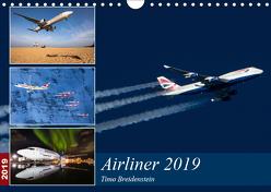 Airliner 2019 (Wandkalender 2019 DIN A4 quer) von Breidenstein,  Timo