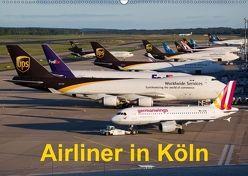 Airliner in Köln (Wandkalender 2018 DIN A2 quer) von Spoddig,  Rainer