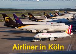 Airliner in Köln (Wandkalender 2020 DIN A2 quer) von Spoddig,  Rainer