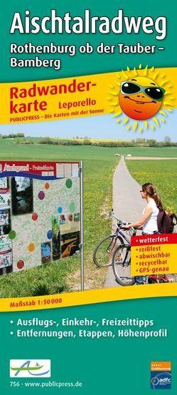 Aischtalradweg, Rothenburg ob der Tauber – Bamberg