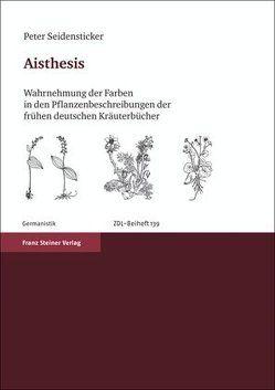 Aisthesis von Seidensticker,  Peter