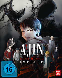 Ajin: Impulse – Teil 1 der Movie-Trilogie – DVD (Steelcase) [Limited Edition] von Ando,  Hiroaki