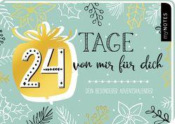 AK 24 Tage von mir für dich – ein ganz besonderer Adventskalender zum Ausfüllen und Verschenken