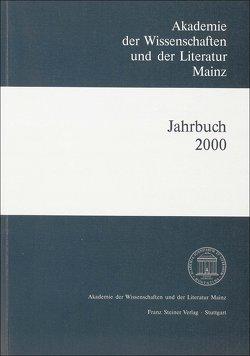 Akademie der Wissenschaften und der Literatur Mainz – Jahrbuch 51 (2000) von Akademie der Wissenschaften und der Literatur,  Mainz