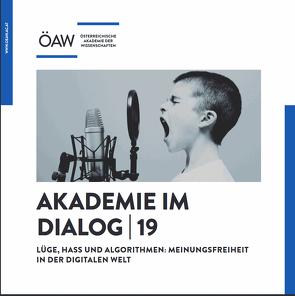 Akademie im Dialog 19 von Pöschl,  Magdalena