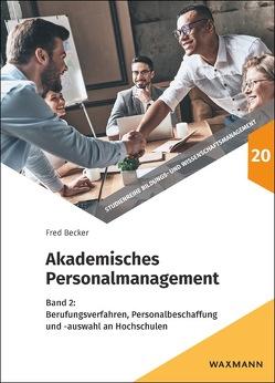 Akademisches Personalmanagement von Becker,  Fred G.