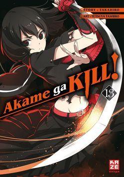 Akame ga KILL! 13 von Bockel,  Antje, Takahiro, Tashiro,  Tetsuya