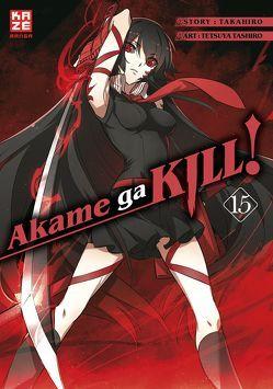 Akame ga KILL! 15 von Bockel,  Antje, Takahiro, Tashiro,  Tetsuya