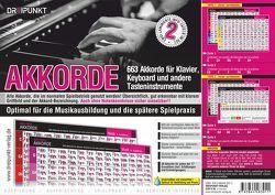 Info-Tafel-Set Akkorde von Schulze,  Michael