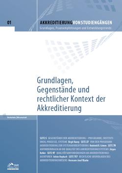 Akkreditierung von Studiengängen – Heft 1 von Blanke,  Hermann-Josef, Grimm,  Reinhold R., Hanny,  Birgit, Hopbach,  Achim, Kohler,  Jürgen