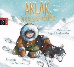 Aklak, der kleine Eskimo – Spuren im Schnee von Burkholder,  Sigrid, Stohner,  Anu, Wilson,  Henrike